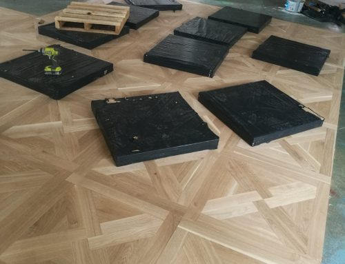 Solid Parquetry floor panle – Hawthorn